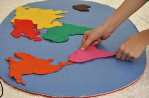 mapa świata kontynenty