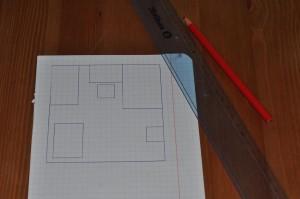 plan pokoju dla lalek