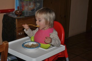 jedzenie lyzka