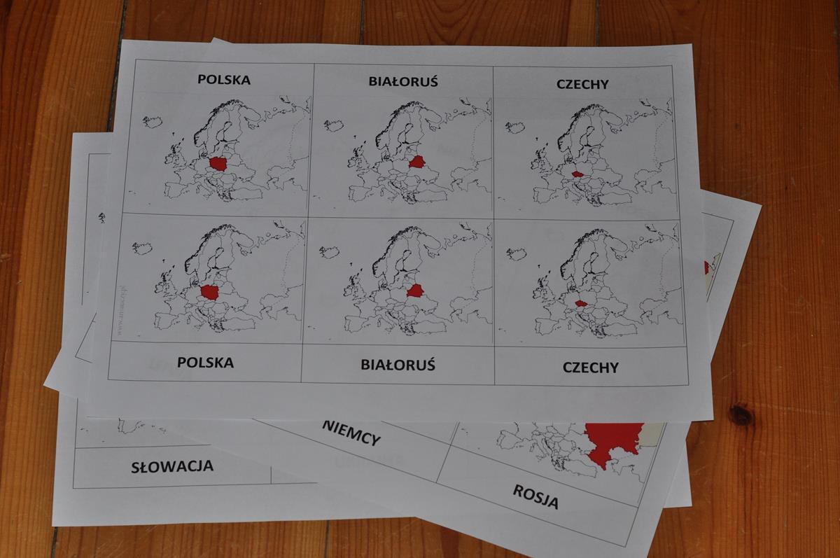 Sąsiedzi Polski-karty