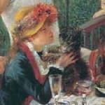 Renoir Auguste sniadanie wioslarzy piesek