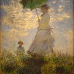 monet pani z parasolka