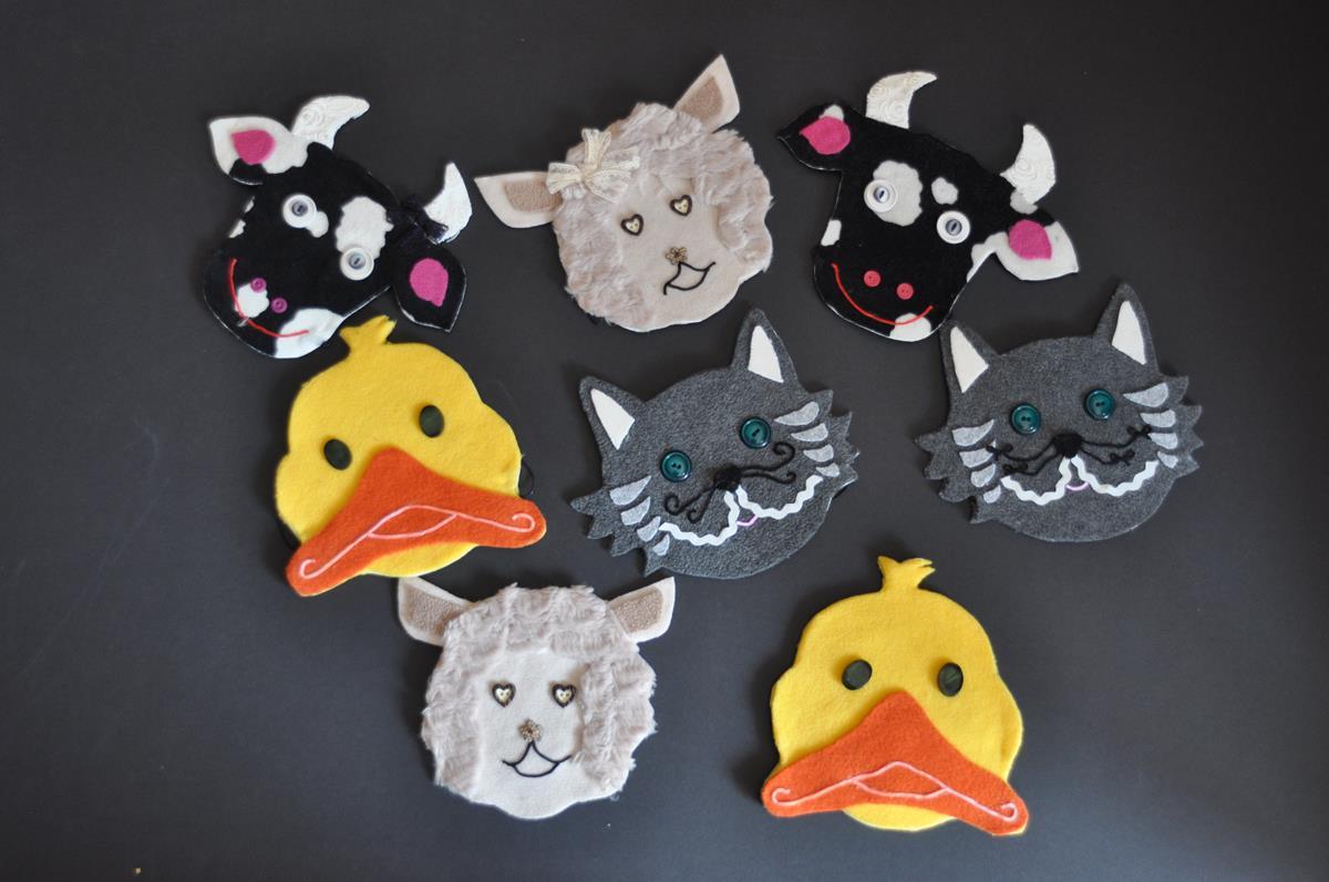 Maski zwierząt Mcdonalda