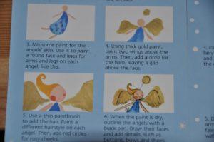 akwarelowe aniołki
