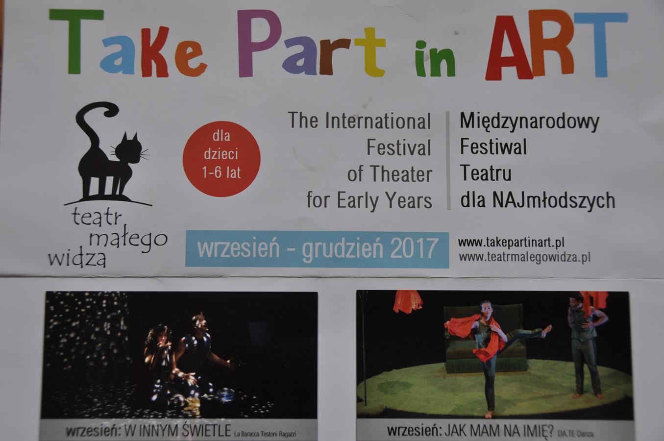 Take part in art dla dzieci